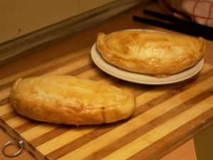 Cheese & Olive Calzones