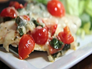 Bruschetta Tilapia- Healthy, Fresh and Easy