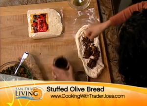 Energizing Lentil Salad and Fresh Olive Bread