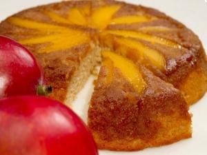 90 Second Mango Upside Down Cake
