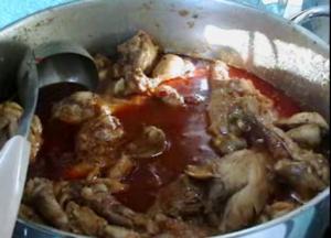Curried Chicken Dinner