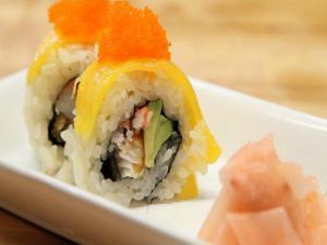 Sushi Volcano Rolls