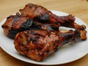 BBQ Turkey Legs