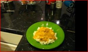 Spicy Chicken Tikka Masala with Basmati Rice