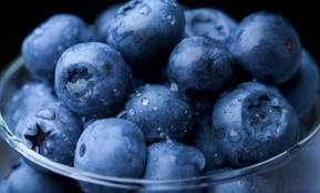 Blueberries are healthy