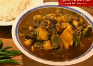 Fish Curry With Lentil And Vegetables