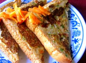 Vegetable Sooji Sandwich