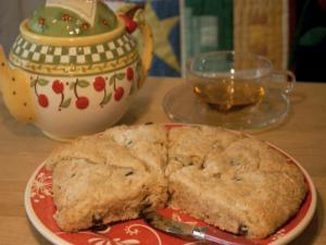 Spiced Cherry Scones