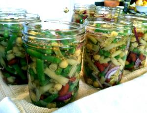 Pickled Three Bean Salad