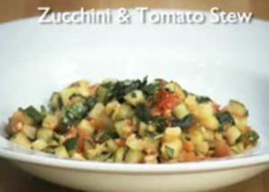 Vegetarian Zucchini Tomato Stew