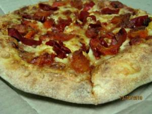 Spicy Chinese Pizza