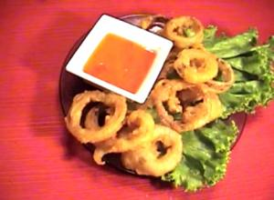 Crispy Thai Beer Fried Onion Rings