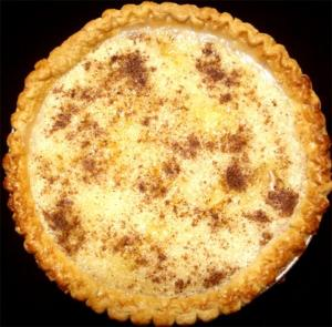 Aunt Hattie's Buttermilk Custard Pie