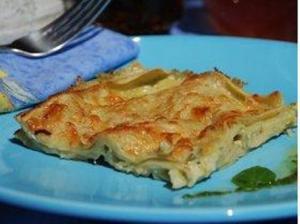 Pesto Lasagna