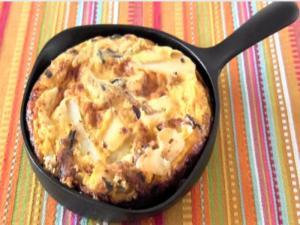 Tortilla de Patata con Quelpo Japonés (Spanish Omelette)