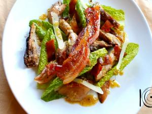 Jerk Chicken Caesar Salad