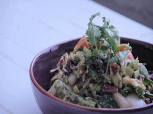 Raw Asian Chopped Salad