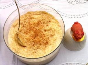 Rice Cheese Custard