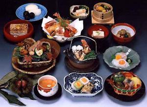 Elegant and delicious Kaiseki cuisine