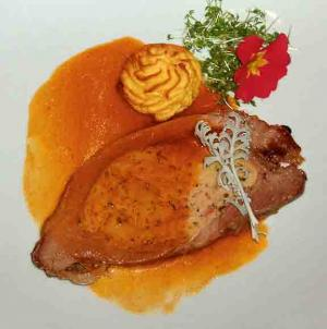 Stuffed Veal en Gelee