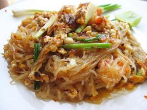 Chicken and Fried Noodles