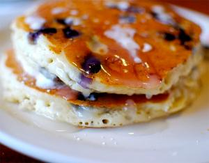 Wild Mountain Blueberry Pancakes