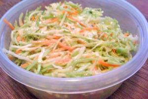 Fruit Salads Apple and Sour Cream Slaw