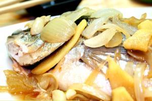 Pinangat Na Isda With Soy Sauce