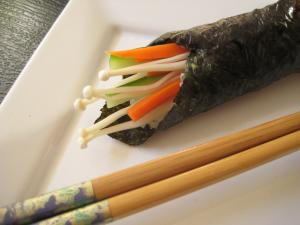 It's Easy to Make your own Sushi