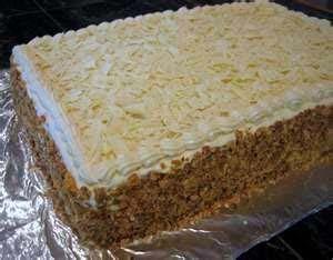 Carrot Crumb Cake