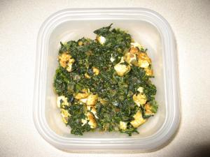 Spinach & Tofu Fry