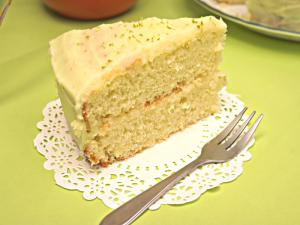 Eggless Lime Cake