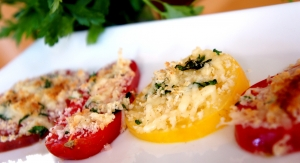 Cheesy Herb Tomatoes