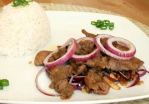 Pork Steak with Soy Sauce