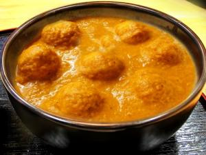 Meat Koftas In Curried Cream Sauce