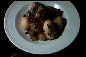 Spiced Potatoes With Onion And Peppers