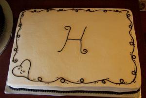 Orange Sheet Cake