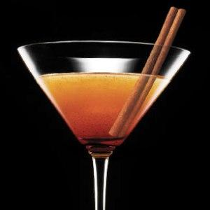 The aromatic cinnamon martini.