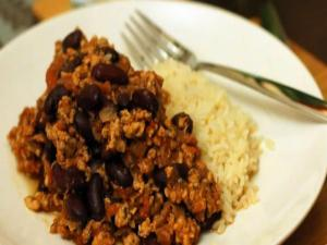 Turkey Chilli Con Carne - Fitness