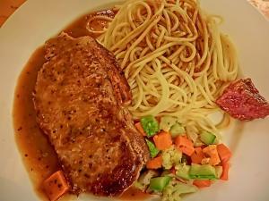 Orange Pepper Steaks