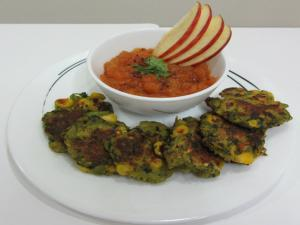Corn, Methi and Aloo ki Tikki