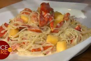 Gourmet Delight Lobster Pasta