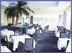 A restaurant view in Brighton