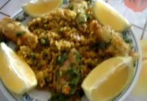 Calamari Paella