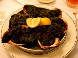 Oysters En Brochette