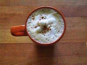 Pumpkin Spice Skinny Chai Latte