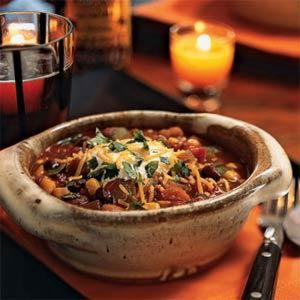 Thick Three Bean Chili