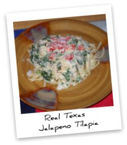 Jalapeno Tilapia with Whole Wheat Linguini and Lemon Butter