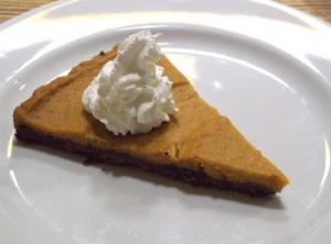 Orange Pumpkin Tart