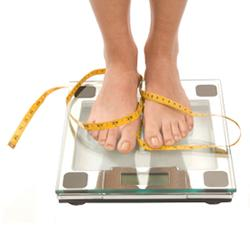 Family members and friends can help patients who are obsessed about calories and weight
